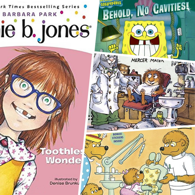 Children's Books About the Dentist - Kindred Smiles Pediatric Dentistry